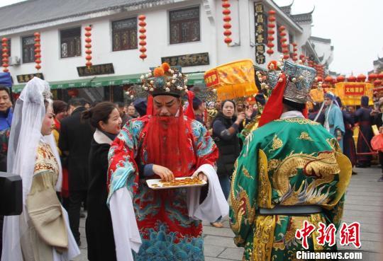 """别样年味湖南南岳衡山景区为游客推出""""非遗""""大餐"""