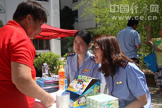 2018年福建省食品安全进社区宣传在东湖社区展开