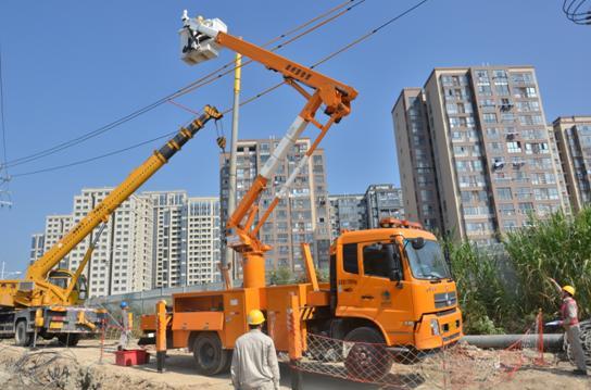国网福州供电公司带电立杆保用户