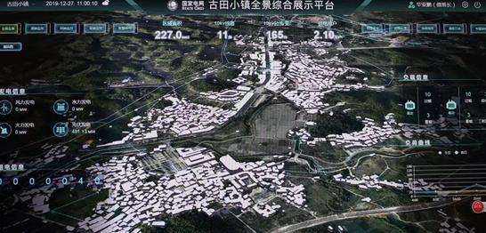 福建上杭:古田智能电网调控系统