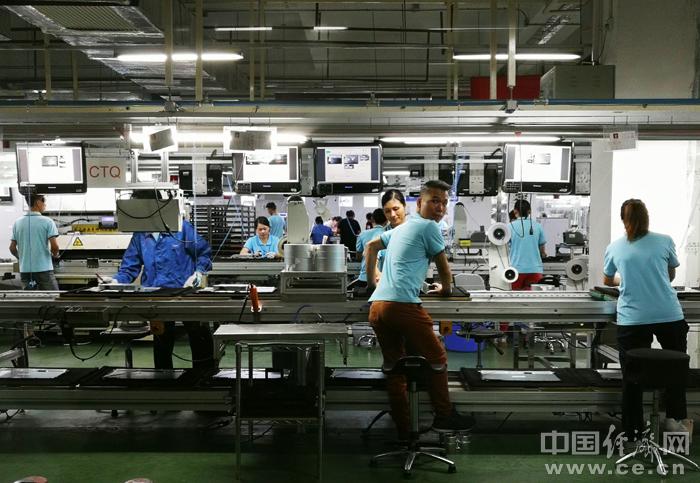 北海工业园区内的作业车间。经济日报-中国经济网记者 宋雅静/摄