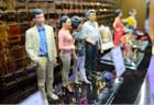 Consumers buy 3D-printed wax figure in E China