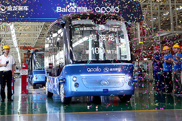 Baidu buses stepping up a gear