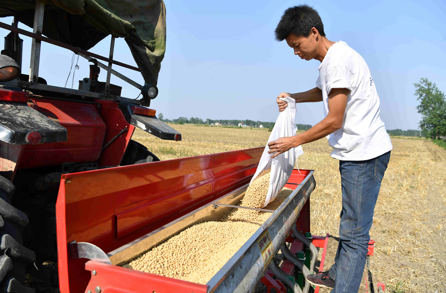 Soybeans hurt little by US tariff moves
