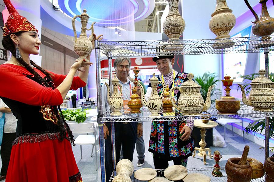 Expo shows BRI is China-Eurasia trade driver