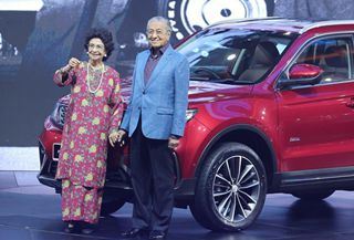 Proton-Geely partnership takes to road with launch of SUV in Malaysia