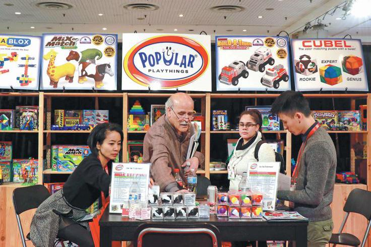 Demand rising for educational toys