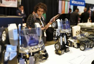 Chinese robotics company showcases innovative gadgets at NYC Toy Fair