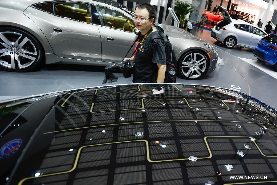Chengdu Motor Show 2013 kicks off in SW China