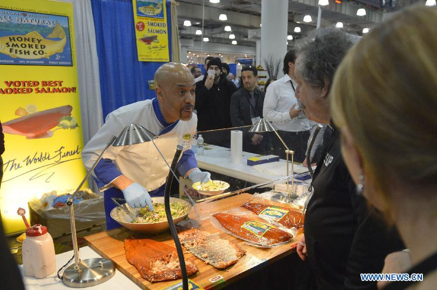 Int'l Restaurant & Foodservice Show held in New Yo