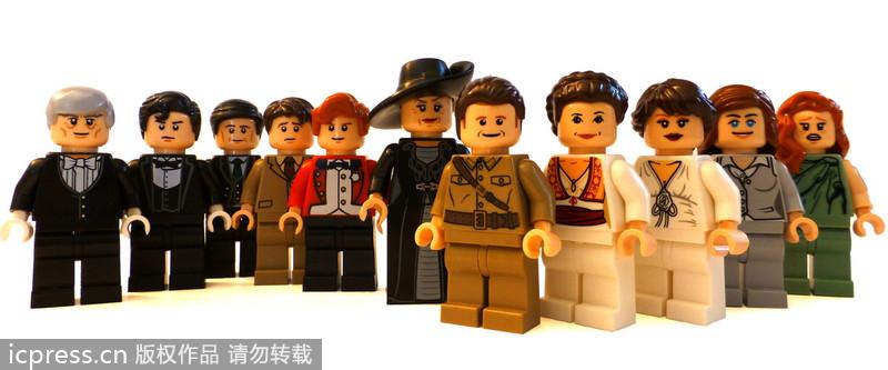 The Lego version of Downton Abbey --China Economic Net