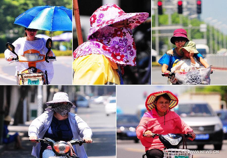 High temperature hits Fujian