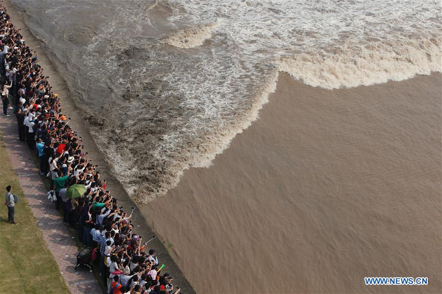 CHINA-ZHEJIANG-QIANTANG RIVER-TIDAL BORE(CN)