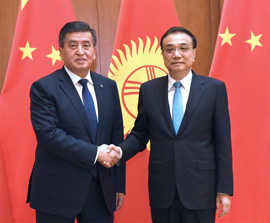 CHINA-BEIJING-LI KEQIANG-KYRGYZ PRESIDENT-MEETING (CN)