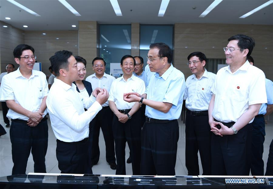 CHINA-HUNAN-LI KEQIANG-INSPECTION (CN)