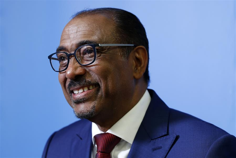 UN-UNAIDS-MICHEL SIDIBE-INTERVIEW
