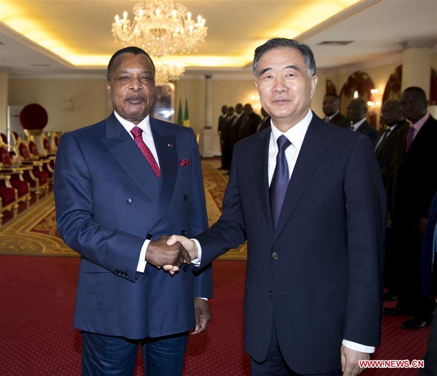 REPUBLIC OF CONGO-CHINA-WANG YANG-VISIT