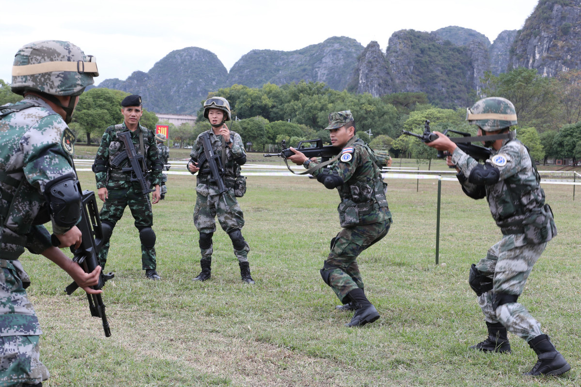 Joint exercises among ASEAN states bolster region