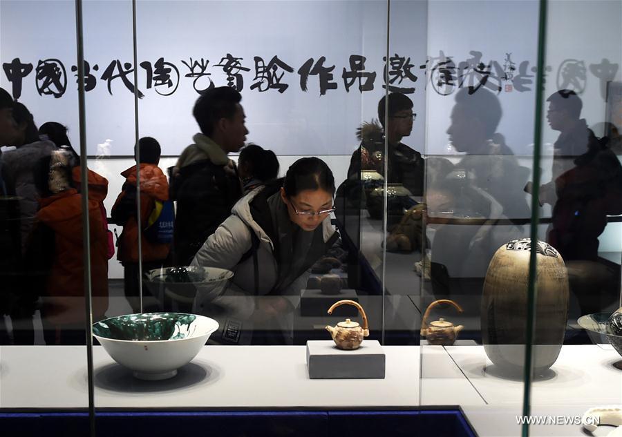 CHINA-SHANDONG-POTTERY-EXHIBITION(CN)
