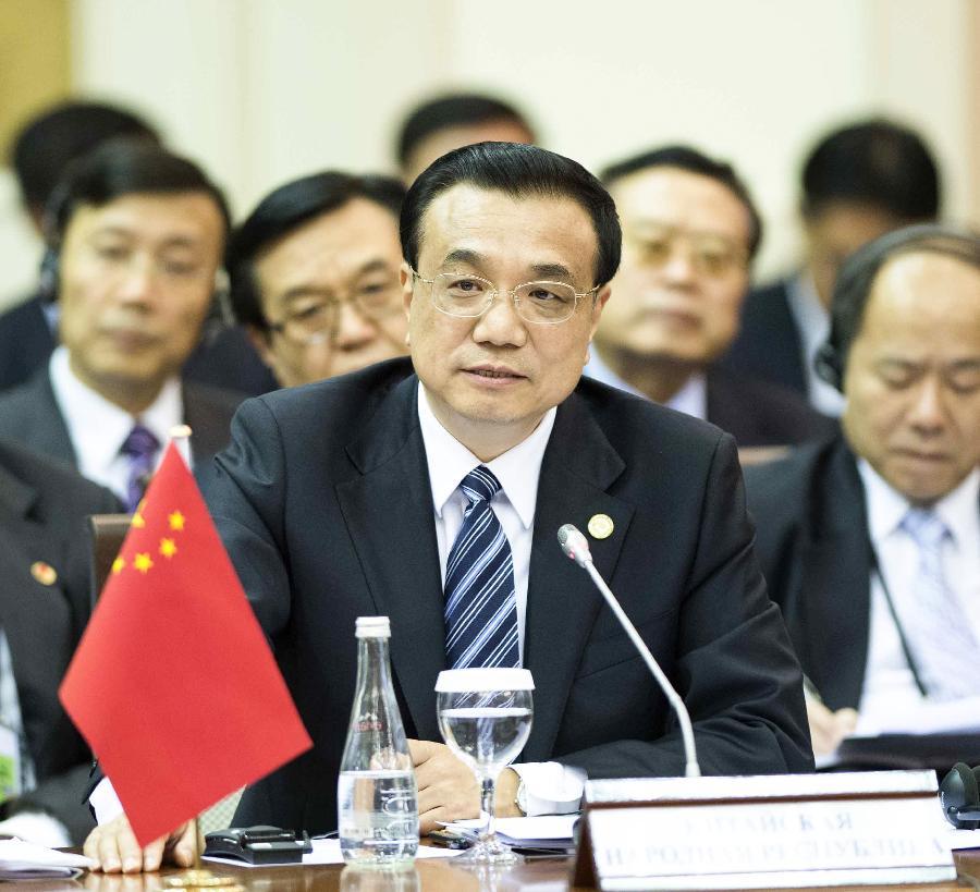 Li makes 6-point proposal on SCO cooperation