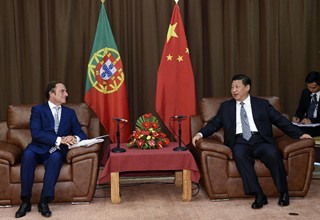 China stands ready to deepen co-op with Portugal: Xi