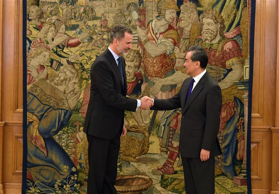 SPAIN-MADRID-CHINA-WANG YI-VISIT