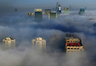 Heavy smog hits NE China