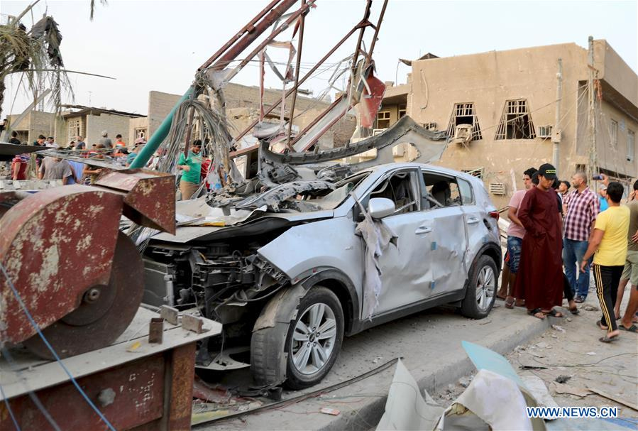IRAQ-BAGHDAD-EXPLOSION
