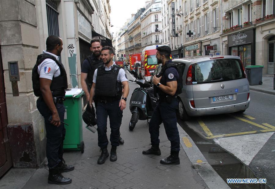 FRANCE-PARIS-HOSTAGE-TAKING