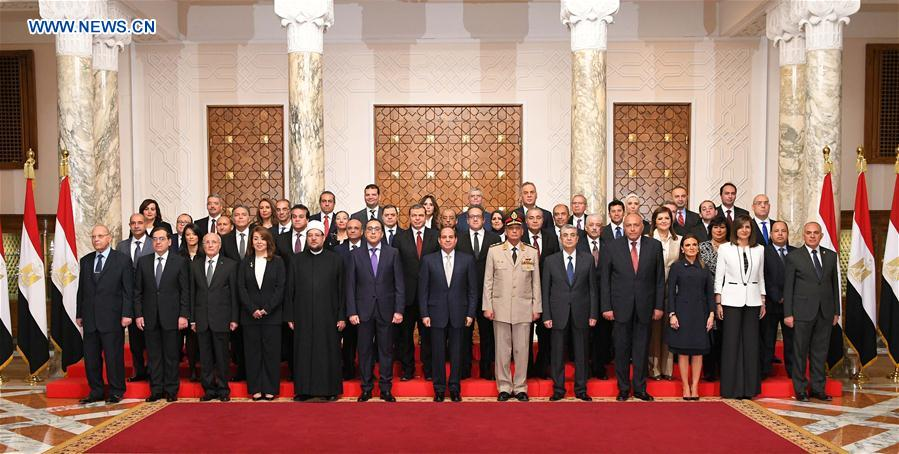 EGYPT-CAIRO-NEW CABINET
