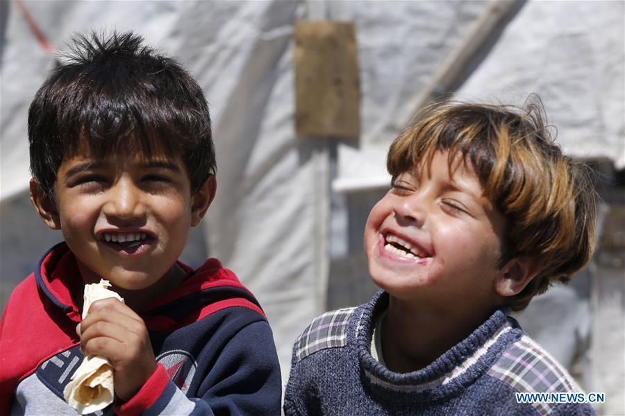 LEBANON-BEKAA VALLEY-BAR ELIAS-SYRIAN REFUGEE CAMP
