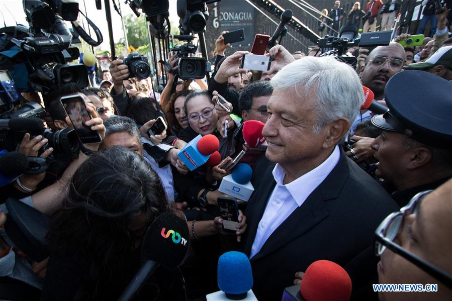 MEXICO-MEXICO CITY-PRESIDENTIAL ELECTION-VOTE