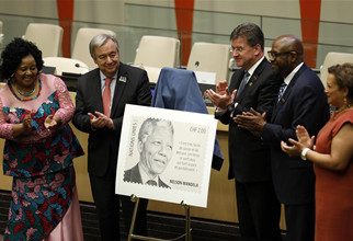 UN chief calls on world to draw inspiration from Mandela to build better future