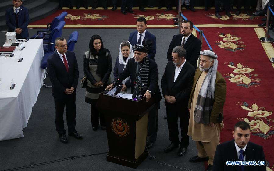 Afghan incumbent president registers to contest coming