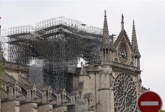 International community shocked as fire ravages Notre Dame Cathedral