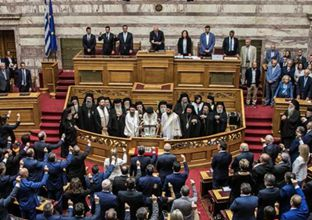 New Greek parliament sworn in after general elections