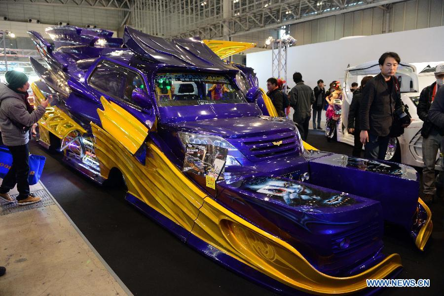 Tokyo Auto Salon 2014 kicks off --China Economic Net