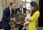 William, Kate and Prince George ready to charm Australia