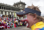 6th Latin American Congress of Clowns parade held in Guatemala
