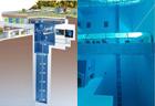 Deepest swimming pool build in Italian hotel