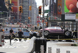 At least 10 injured in NYC