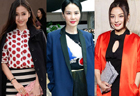 Chinese stars at 2014 fall/winter fashion weeks