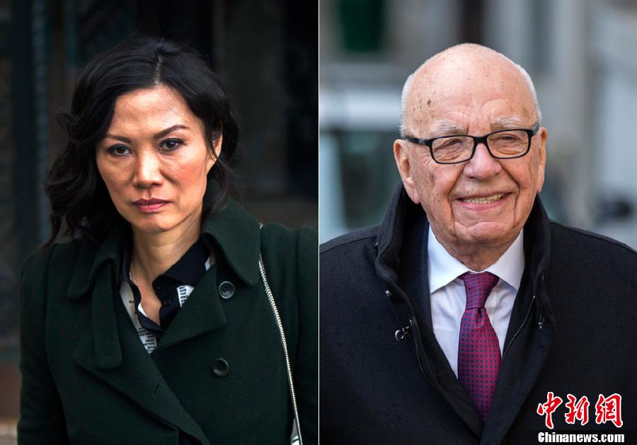 Murdoch reaches divorce settlement with Wendi Deng