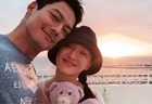 Sweet shoot of Zhou Xun and her husband