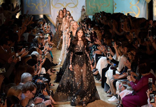 Elie Saab Haute Couture 2017/18 F/W collection presented in France