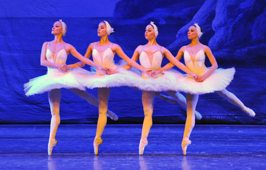 Ukraine ballet troupe brings Swan Lake to Nanning