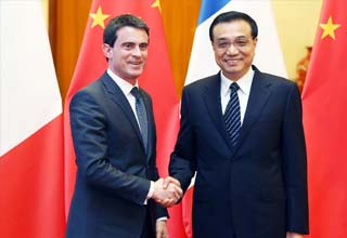 China, France vow reciprocal cooperation in broader areas
