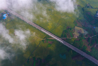 Guangxi develops modern cubic transportation systems in recent years