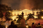 Small hot air ballon possible cause of Rio museum fire