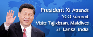 Xi attends SCO summit, visits four Asian countries